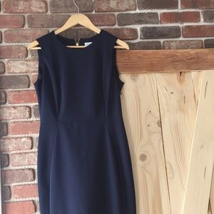 Calvin Klein | Navy Blue Dress